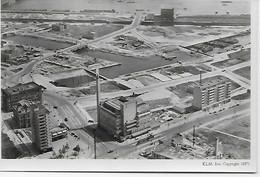 CPSM- ROTTERDAM APRES LES BOMBARDEMENTS DE LA GUERRE 45 1946 BIJENKORF MET OMGEVING ED KLM SCHIPHO - Rotterdam
