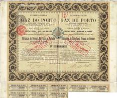 Titre Ancien - Companhia Do Gaz Do PORTO - COMPAGNIE DU GAZ DE PORTO - Obligation De 1893 - - Electricity & Gas