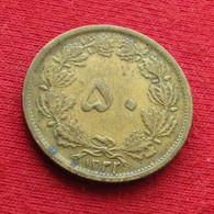 Iran 50 Dinars 1943 / 1322 KM# 1142 Lt 643  Irão Persia Persien Perse Dinar - Irán