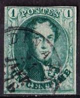 N° 9  OBL. 4 MARGES + 1 JUSTE       1861 - 1858-1862 Medallions (9/12)