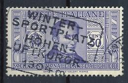 Italie - Italy - Italien 1932 Y&T N°288 - Michel N°378 (o) - 50c Leopardi - Used