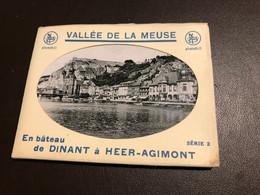 Dinant - Snapshots 10 Pcs - Vallee De La Meuse - En Bateau De Dinant à Heer-Agimont - Serie 2 ( Hastière Waulsort Freyr - Dinant