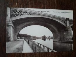 L31/40 Melun - Le Pont Du Mée Et Le Quai Des Fourneaux - Melun