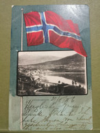 Norvège, Vossevangen. Oblitéré Sended To Luxembourg - Norway