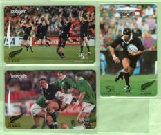 New Zealand - 1995 All Black Heros Set (3) - NZ-A-127/9 - Mint - Nuova Zelanda