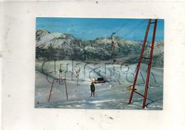 """Belluno (Italie, Veneto) : Alpe Del Nevegal, Sciovia """"Cicio Bel"""" En 1987 (animé) GF. - Belluno"""
