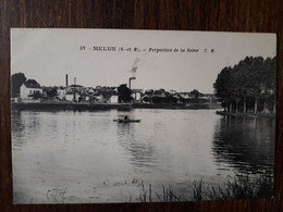 L31/45 MELUN . Perspective De La Seine - Melun