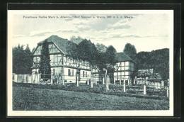 AK Allendorf-Bad Sooden, Hotel Forsthaus Halbe Mark - Chasse