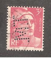 Perforé/perfin/lochung France No 716 T.M. (41) - Perforadas
