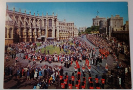 UK - England - Windsor - Windsor Castle, The State Apartments - The Garter Procession - The Queen And The Royal Family - Windsor