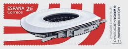 Spain 2020 Espagne Urban Architecture Soccer Sport Wanda Metropolitano Stadium  Madrid - Atlético De Madrid 1v Mnh - Beroemde Teams