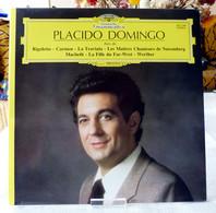 Placido Domingo : Airs De Rigoletto - Carmen - La Traviata - Les Maitres Chanteurs De Nuremberg - Macbeth .... - Opera / Operette