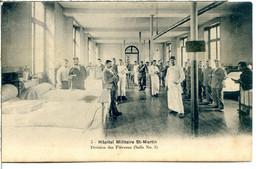 75010 PARIS - Hôpital Militaire St-Martin - Division Des Fiévreux (salle N° 1) - Distrito: 10