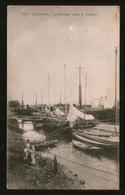 Russia Old Postcard Saratov. Cargo Ship Off The Coast - Russia