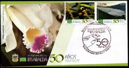 COLOMBIA- KOLUMBIEN- 2017 FDC/SPD. RISARALDA DEPARTMENT 50 YEARS - Colombia