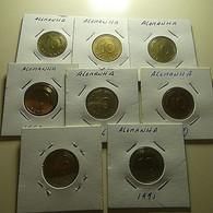 Lot 8 Coins 10 Pfennig Germany - Mezclas - Monedas