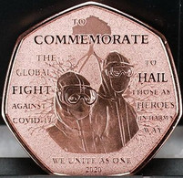 UK London Mint Limited Issued Commemorative Coins To Commemorate The Historic Global Fight Against COVID19. - Coins