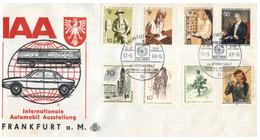 (Q 14 B) Germany - FDC Cover - IAA Automobil Frankfurt Fair (1969) - Cars