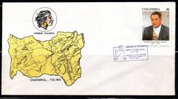 COLOMBIA- KOLUMBIEN- 1991. FDC/SPD. DARIO ECHANDIA OLAYA - Colombia