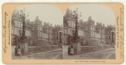France ~ FONTAINEBLEAU ~ Royal Palace In 1895 Stereoview 3105 21764 - Stereo-Photographie