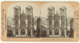 France ~ NICE ~ Notre Dame Church Stereoview 11764 21750 - Stereo-Photographie