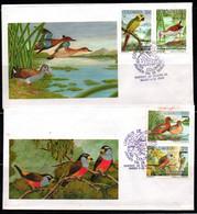 COLOMBIA- KOLUMBIEN- 1994. FDC/SPD. BIRDS AND DUCK - Colombia