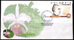COLOMBIA- KOLUMBIEN- 1997. FDC/SPD. SOLEDAD ACOSTA DE SAMPER - Colombia