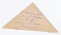 Russland Dreiecksbrief Mit Zensur - 1923-1991 USSR