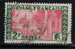 GUYANE          N°  YVERT  :   128    OBLITERE       ( Ob   9/19  ) - Usati