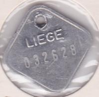 Jeton - Token - Taxe Sur Les Chiens 1993 - Liege - Belgique - Gemeindemünzmarken