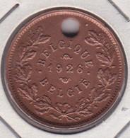 Jeton - Token - Taxe Sur Les Chiens 1926 - Belgique - Gemeindemünzmarken