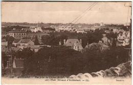 51ar 1818 CPA - AUXERRE - VUE PRISE DU CLOCHER DE SAINT EUSEBE - Auxerre