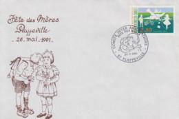 Enveloppe  FRANCE   Fête  Des  Méres   PLAPPEVILLE   1991 - Giorno Della Mamma