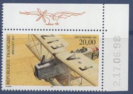 N° 61a Biplan Bréguet XIV Faciale 20 F Avec Date 2,17,06,98 - 1960-.... Ungebraucht
