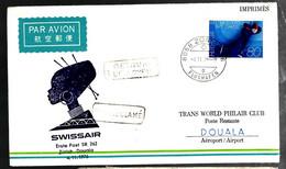 37591 - Vol ZURICH DOUALA - Svizzera