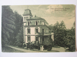 Baile Resita/Resiczabanya-The Rezidential Building Of Chief Inspectors Of The Steel Factory,unused Postcard About 1910 - Roemenië