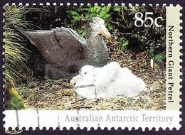 AUSTRALIAN ANTARCTIC TERRITORY (AAT) 1992 QEII 85c Multicoloured Regional Wildlife FU - Used Stamps