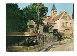 ( 91 ) VIRY CHATILLON 2 Cartes Vieux Lavoir Et L'Eglise - Viry-Châtillon