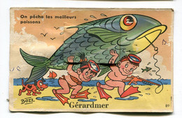 CPA  88 : GERARDMER   Carte à Systèmes  VOIR  DESCRIPTIF  §§§§§ - Gerardmer