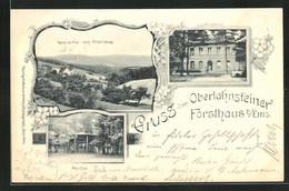AK Bad Ems, Gasthof Oberlahnsteiner Forsthaus, Pavillon, Panorama - Chasse