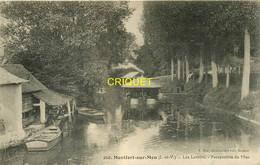35 Montfort Sur Meu, Les Lavoirs, Animation Avec Les Laveuses, Affranchie 1915 - Other Municipalities