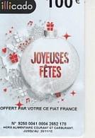 ILLICADO 2015  Joyeues Fetes De Noel 100E  Boule De Noel - Frankreich