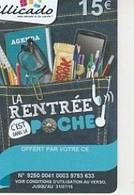 ILLICADO 2015   RENTREE DANS LA POCHE   15E - Frankreich