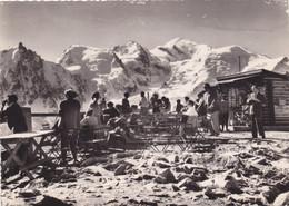 74,HAUTE SAVOIE,CHAMONIX MONT BLANC,CARTE PHOTO ANIMEE COMBIER - Chamonix-Mont-Blanc