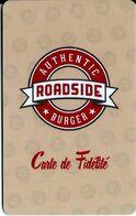 Carte Cadeau - Roadside (carte De Fidélété)   - GIFT CARD /GESCHENKKARTE - Gift Cards