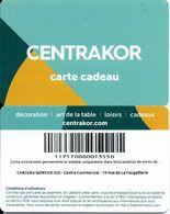 Carte Cadeau  -  Centrakor Du 53 - Gift Card / Geschenkkart - Gift Cards