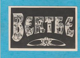 Prénom Berthe. - Firstnames