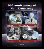 Liberia 2020 Mih. 7781/84 Space. Astronaut Neil Armstrong MNH ** - Liberia