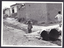 PALESTINIAN REFUGEES CAMP PRESS PHOTO (not Postcard) Size 18 X 24 Cm UNRWA Palestine Arab - Palästina