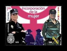 Spain 2020 Mih. 5480 Women In The National Police And Civil Guard MNH ** - 2011-... Neufs